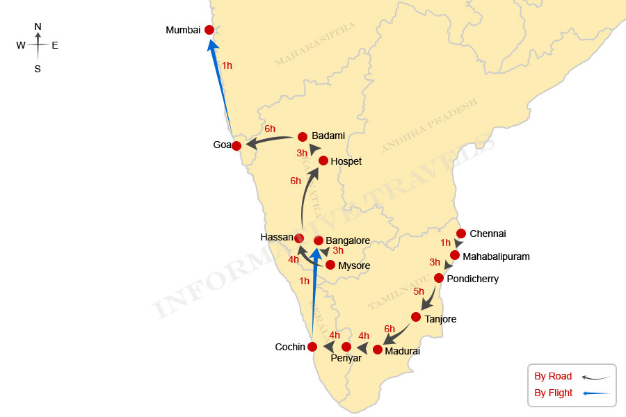 South India Information South India Tours Travel To
