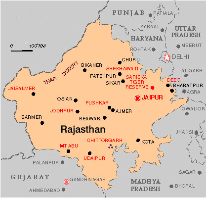 Rajasthan Census 2011 - Population of Rajasthan